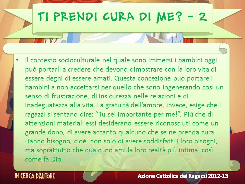 TI PRENDI CURA DI ME - 2