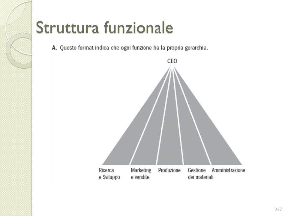 Struttura funzionale