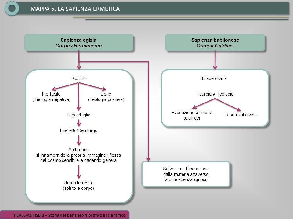 MAPPA 5. LA SAPIENZA ERMETICA