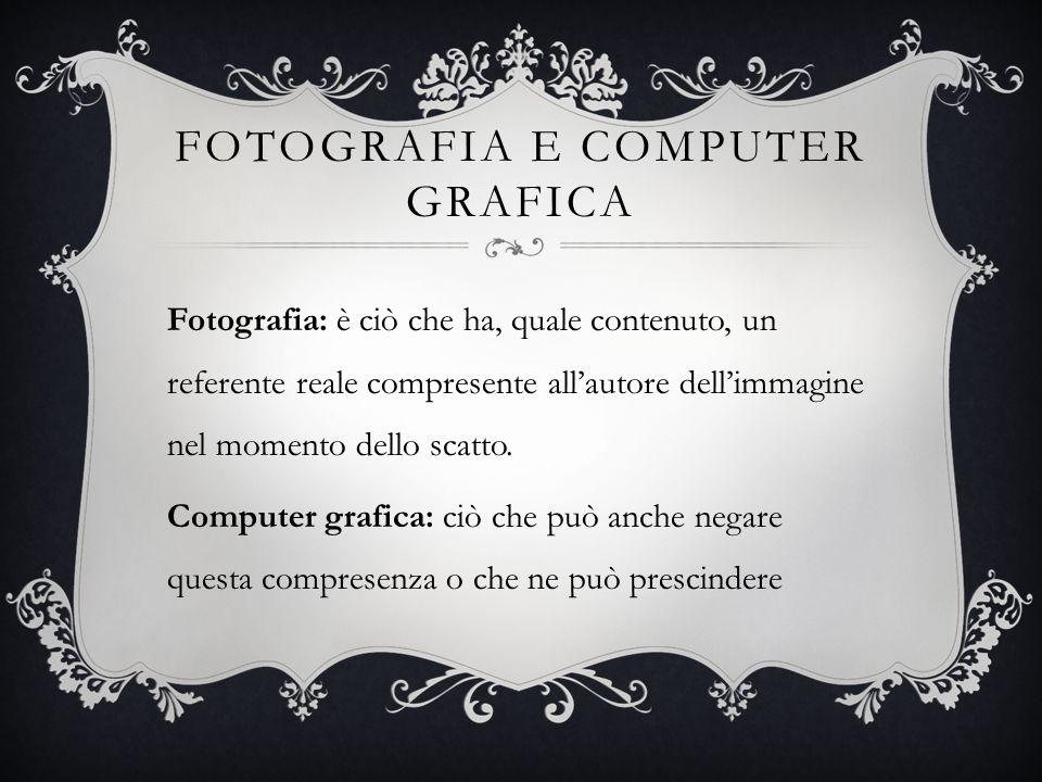 Fotografia e computer grafica