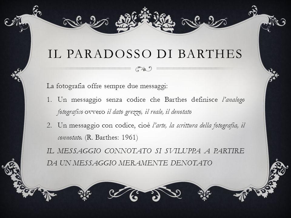 Il paradosso di Barthes