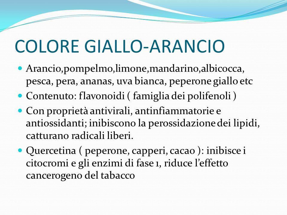 COLORE GIALLO-ARANCIO
