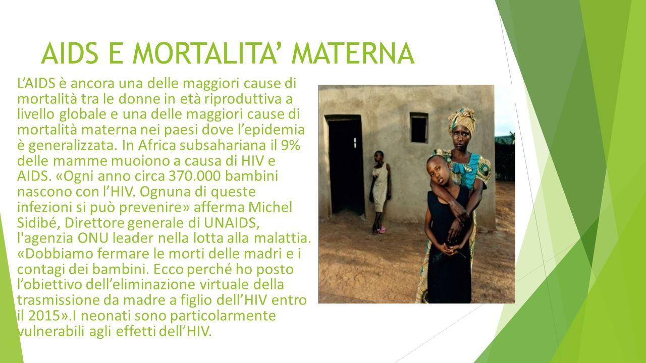 AIDS E MORTALITA' MATERNA