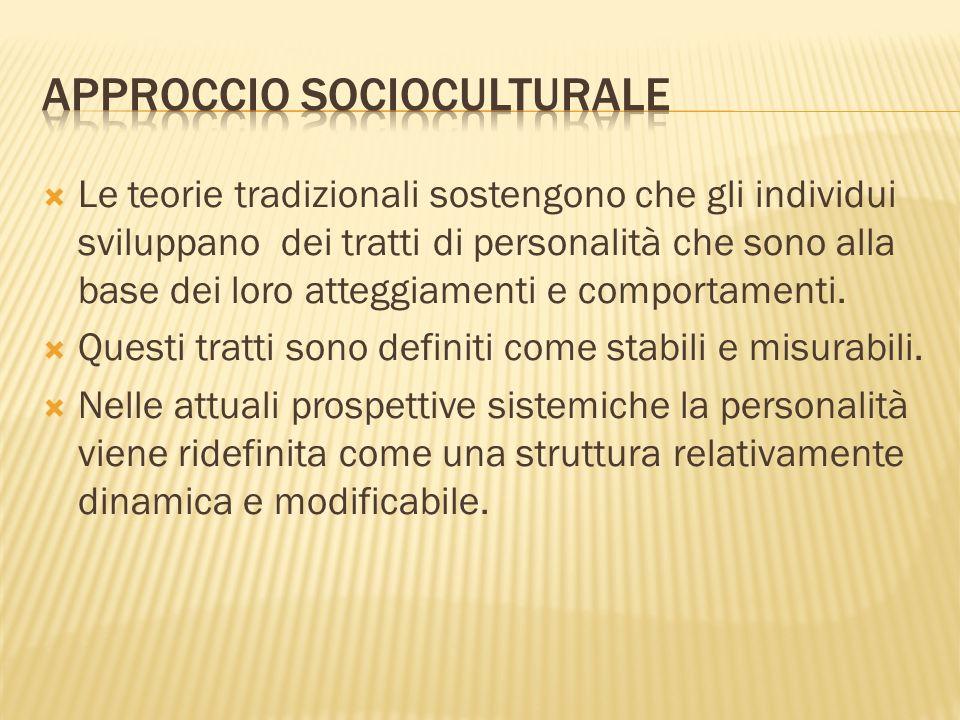 Approccio socioculturale