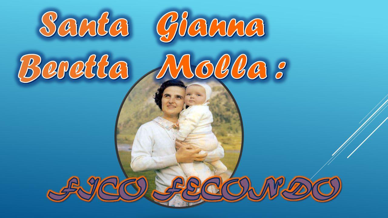 Santa Gianna Beretta Molla :
