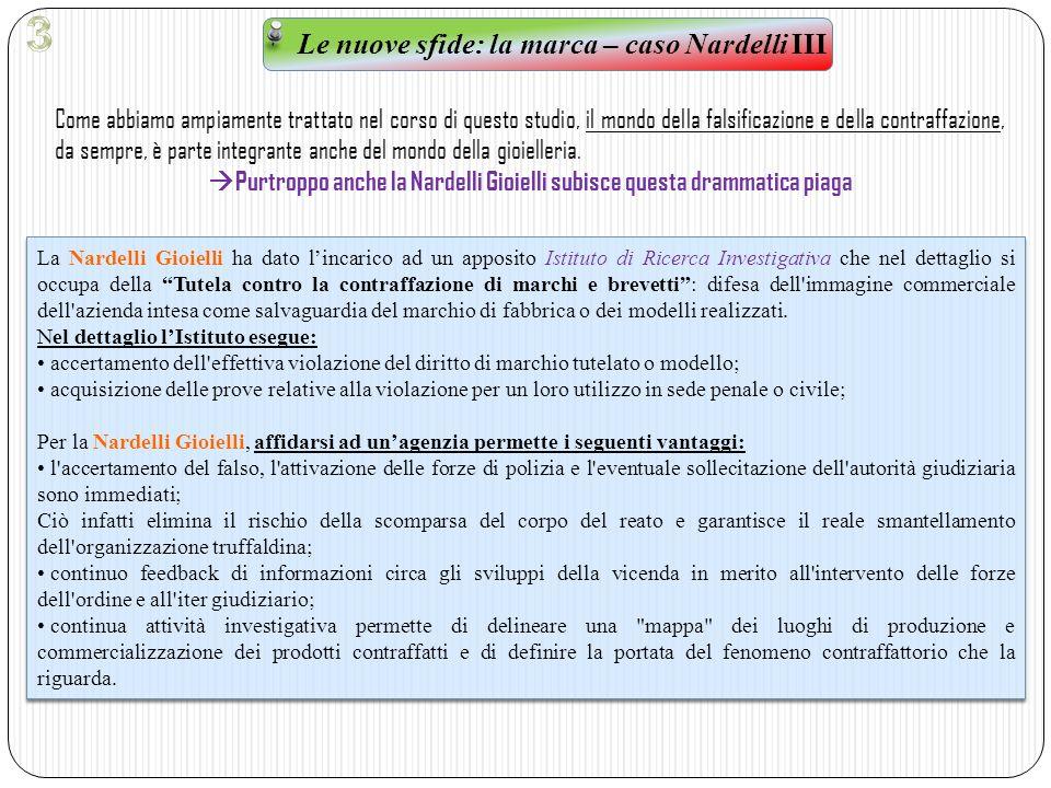 3 Le nuove sfide: la marca – caso Nardelli III