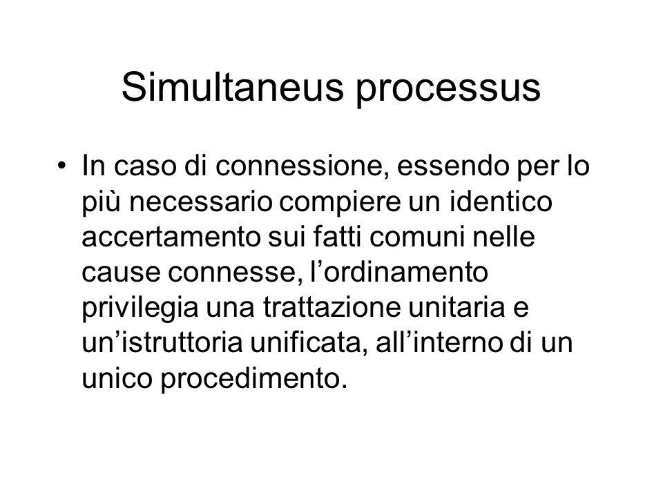 Simultaneus processus