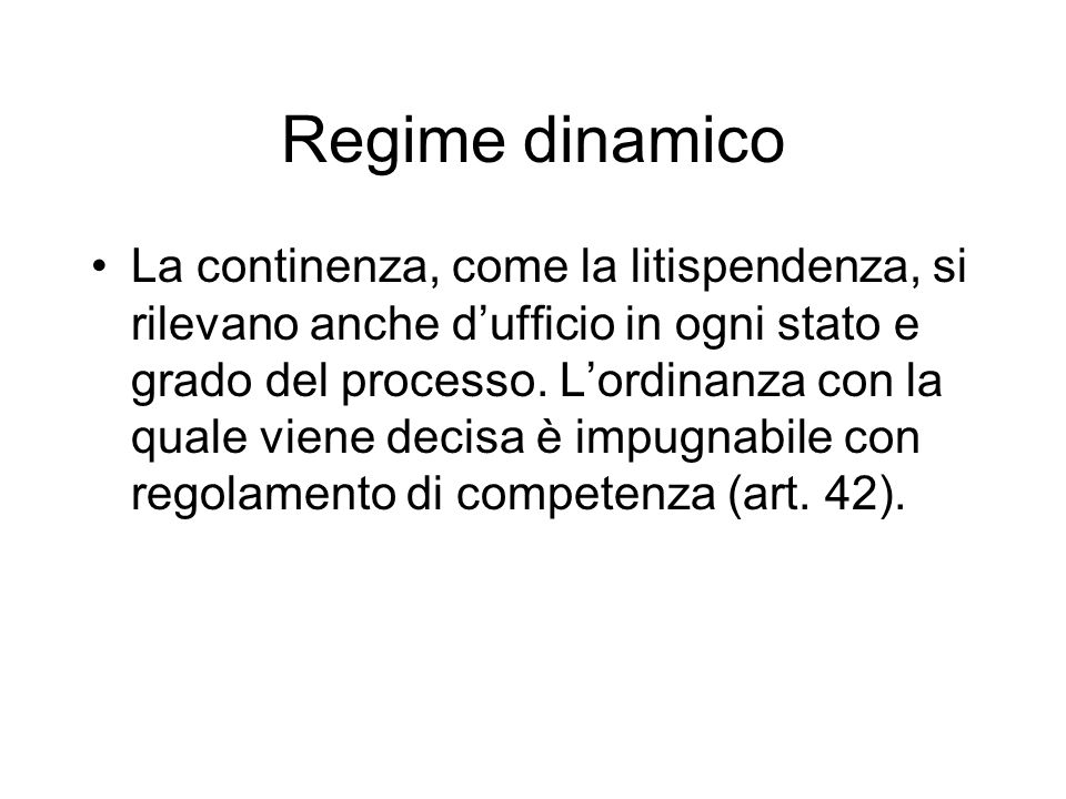 Regime dinamico