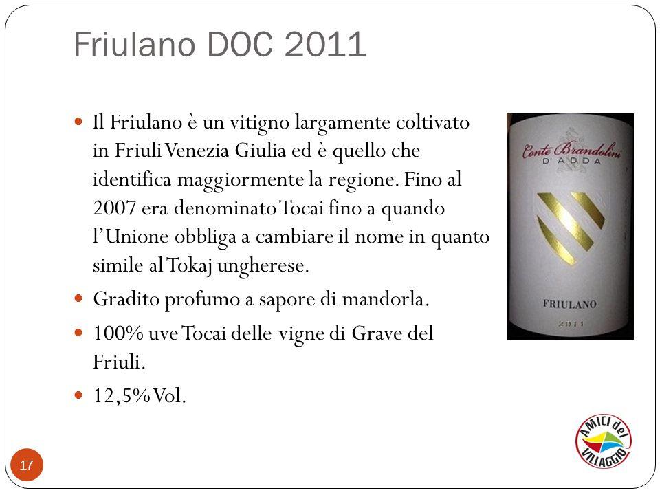 Friulano DOC 2011
