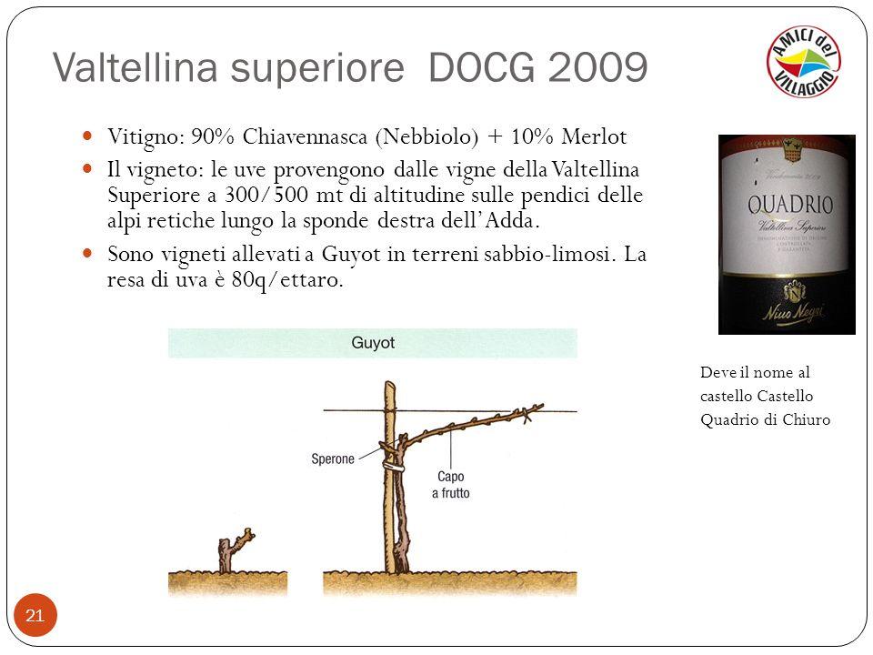 Valtellina superiore DOCG 2009