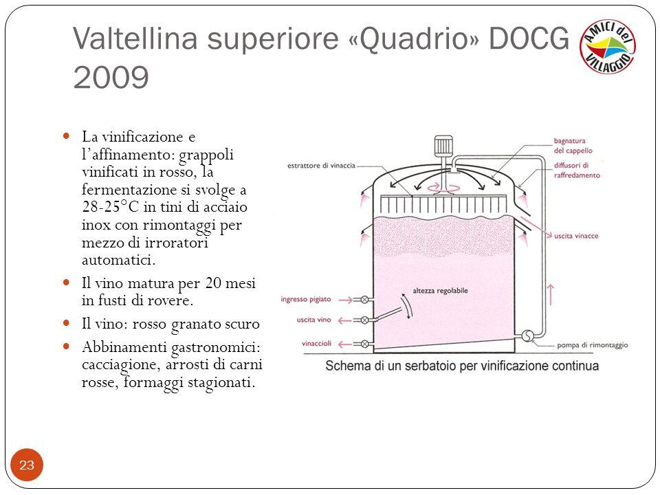 Valtellina superiore «Quadrio» DOCG 2009