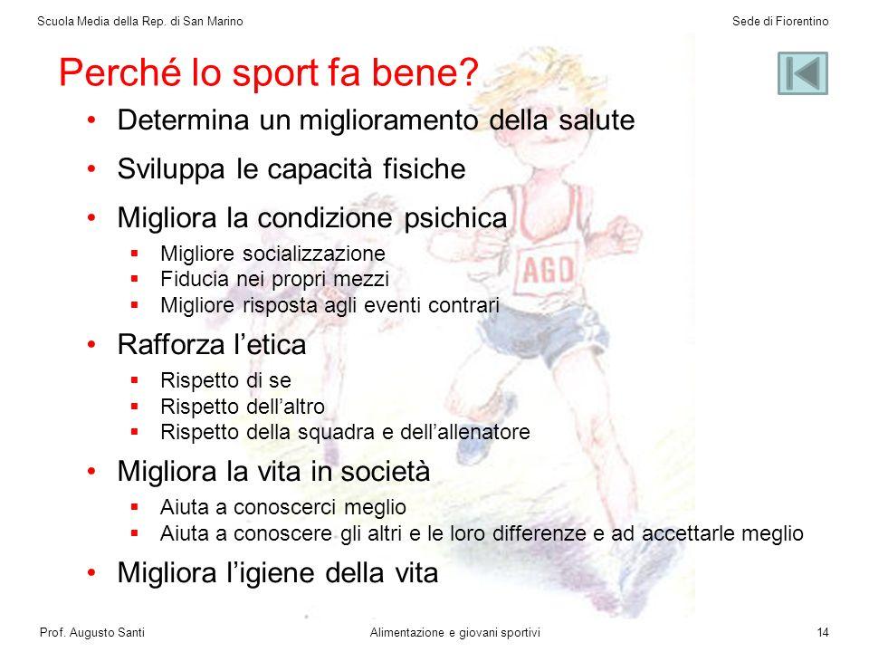 Alimentazione e giovani sportivi