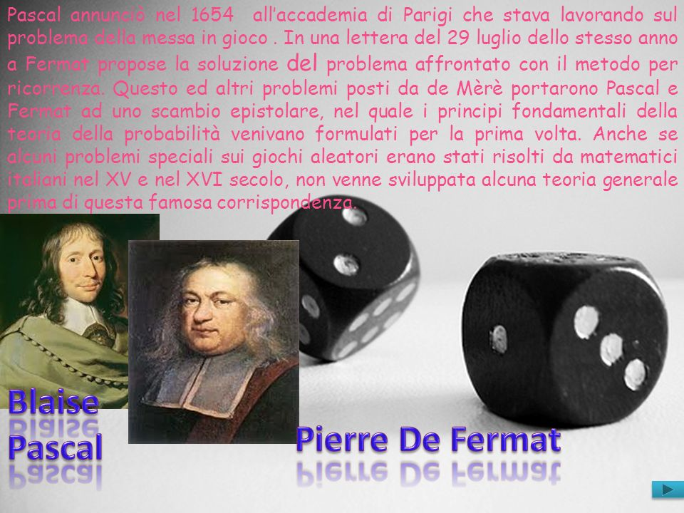 Blaise Pascal Pierre De Fermat