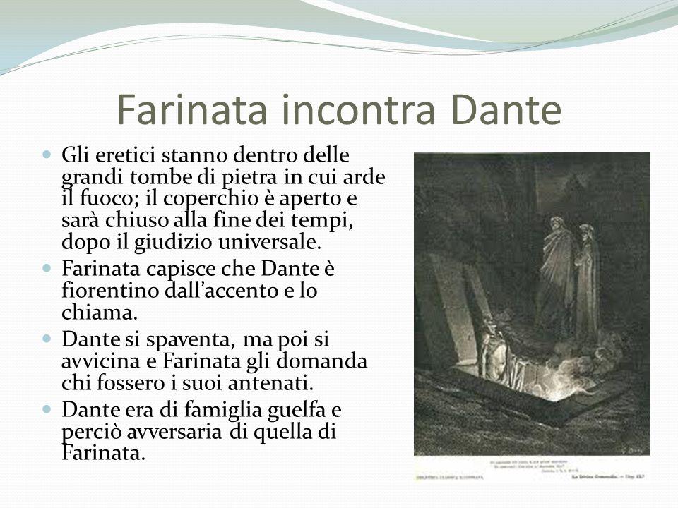 Farinata incontra Dante