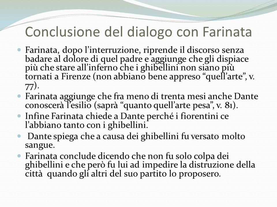 Conclusione del dialogo con Farinata