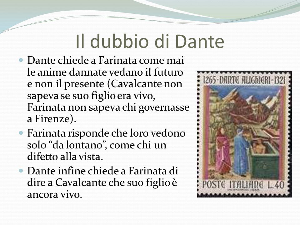 Il dubbio di Dante