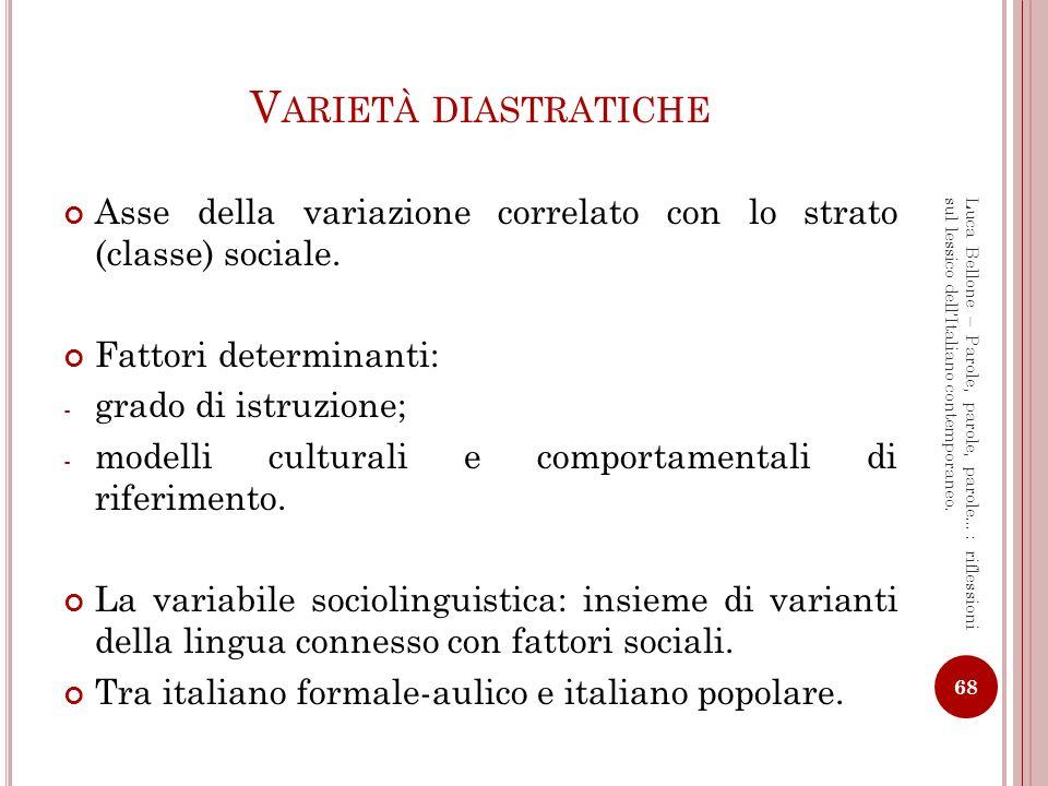 Luca Bellone - Master in Traduzione per il Cinema, la Televisione e l Editoria Multimediale