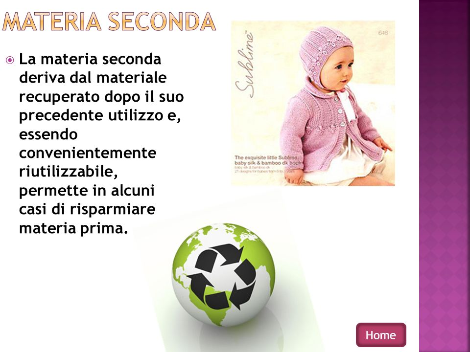 MATERIA SECONDA
