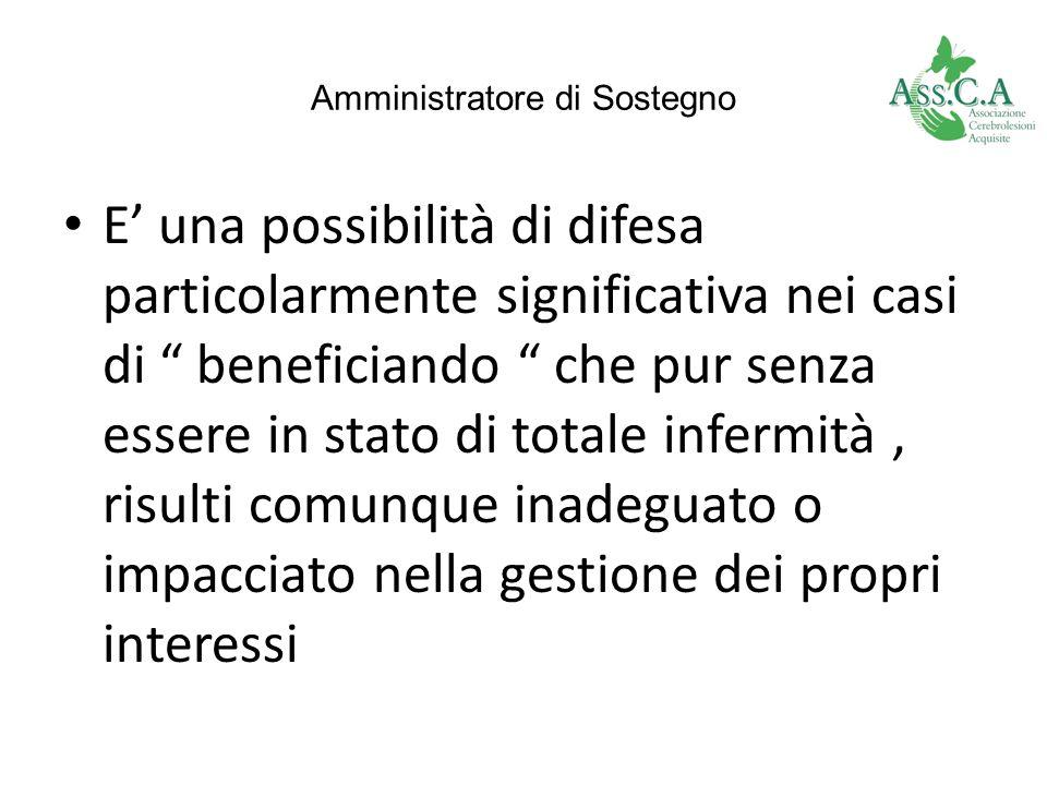 Amministratore di Sostegno