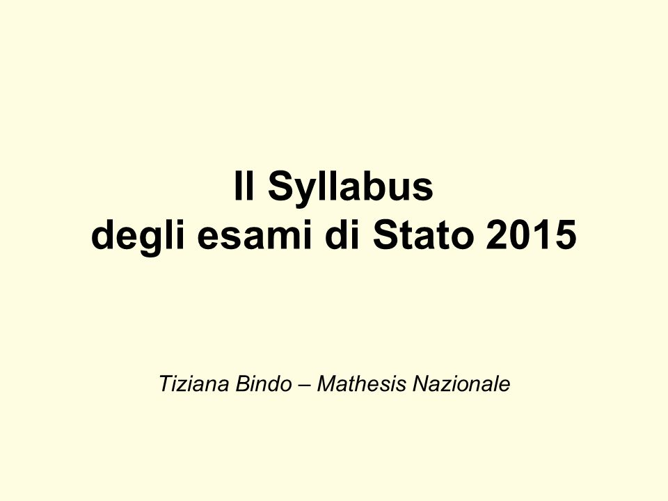 Tiziana Bindo – Mathesis Nazionale