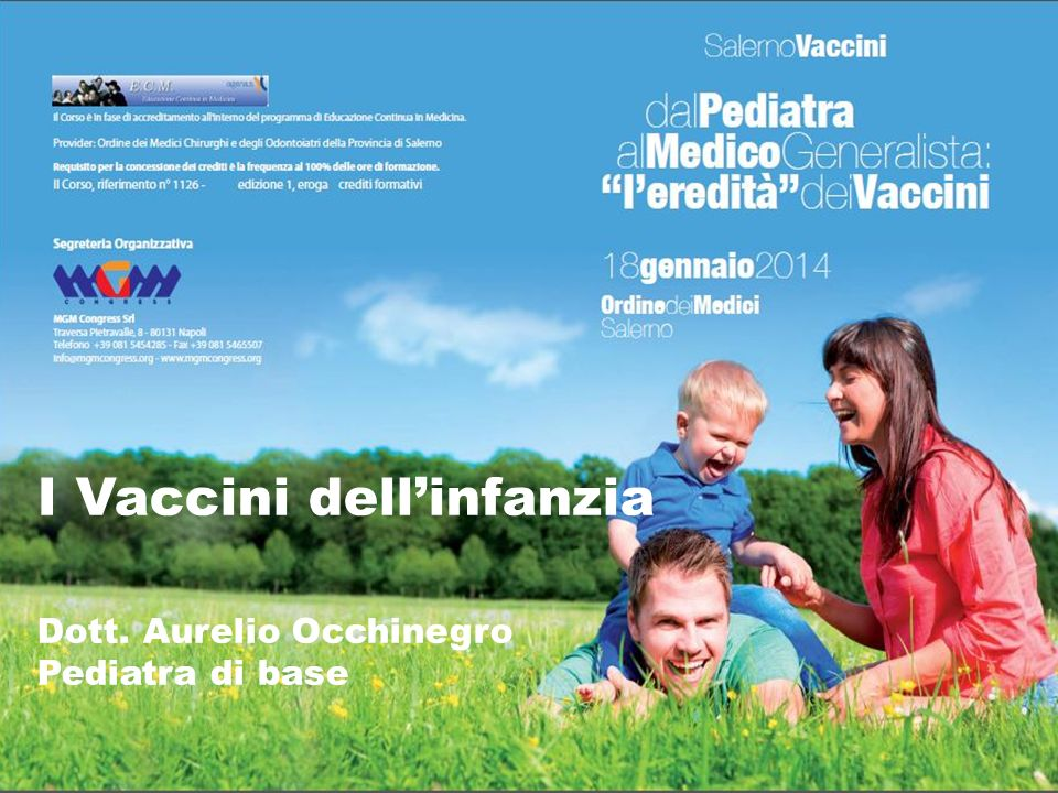 I Vaccini dell'infanzia