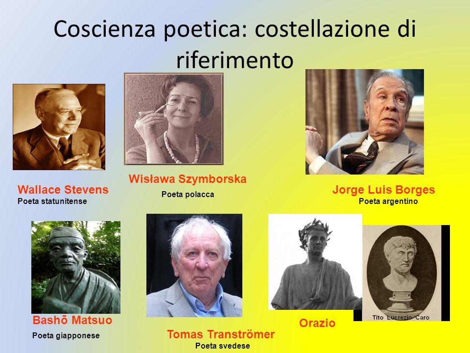 Coscienza poetica: costellazione di riferimento