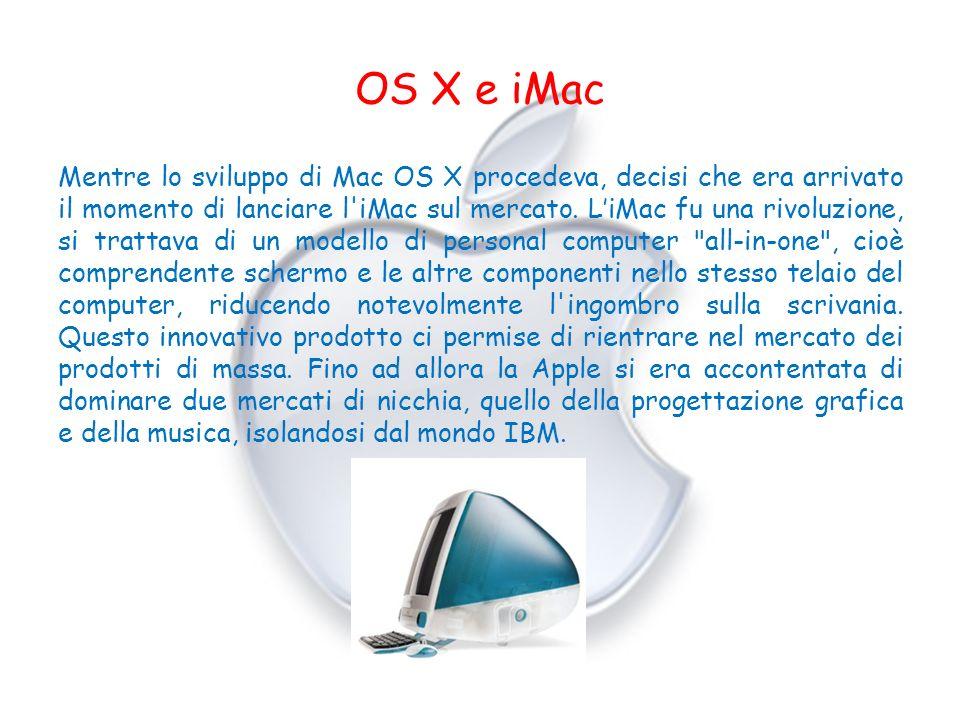 OS X e iMac