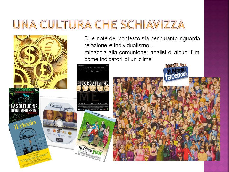 Una cultura che schiavizza