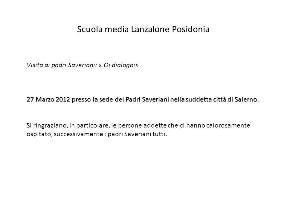 Scuola media Lanzalone Posidonia