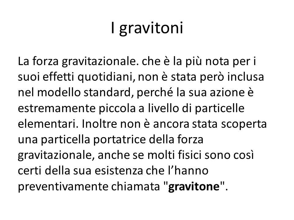 I gravitoni