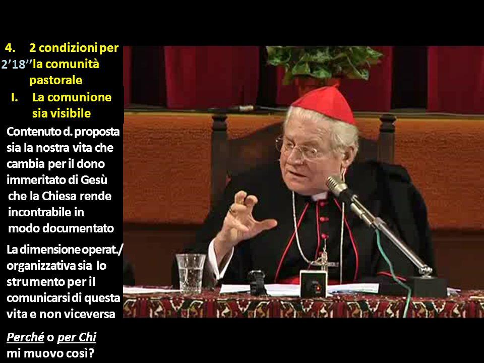 4. 2 condizioni per ila comunità pastorale