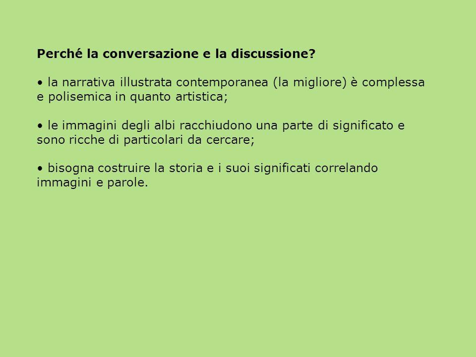 Perché la conversazione e la discussione