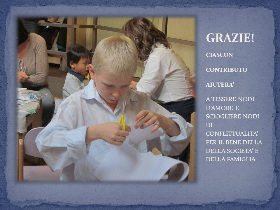 GRAZIE! CIASCUN CONTRIBUTO AIUTERA'