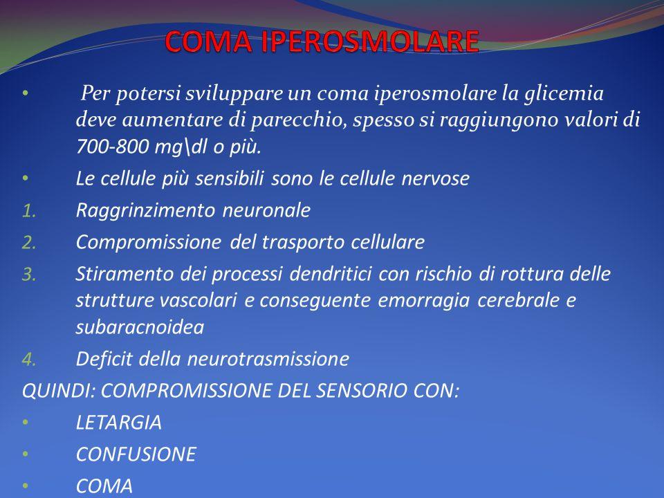 COMA IPEROSMOLARE