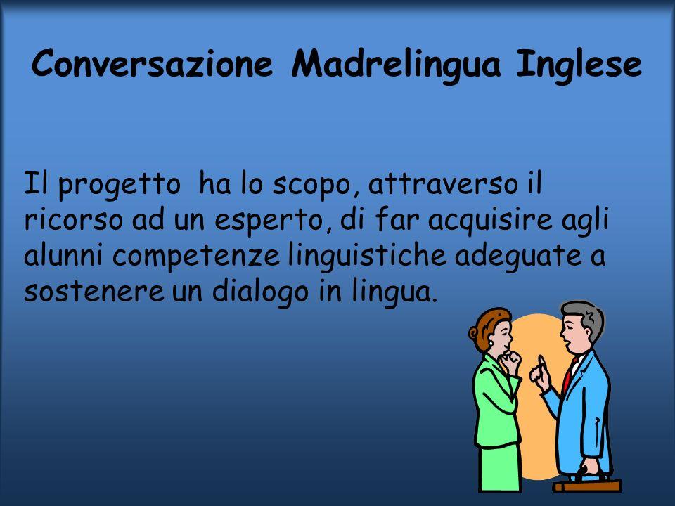 Conversazione Madrelingua Inglese