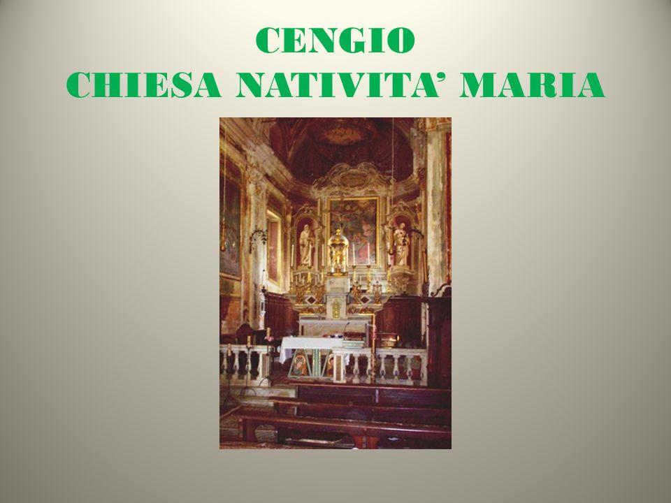 CENGIO CHIESA NATIVITA' MARIA
