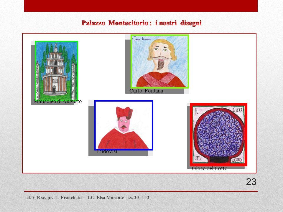Palazzo Montecitorio : i nostri disegni