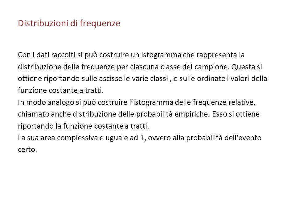 Distribuzioni di frequenze