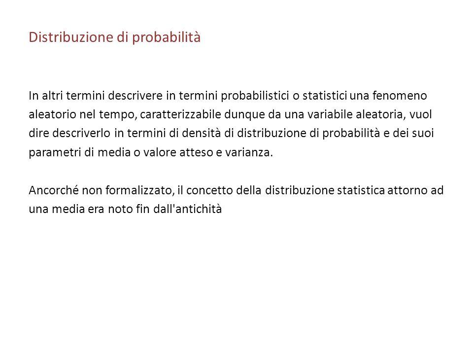 Distribuzione di probabilità