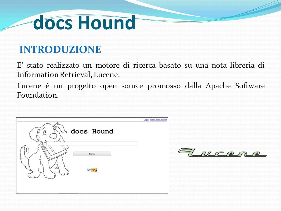 docs Hound INTRODUZIONE