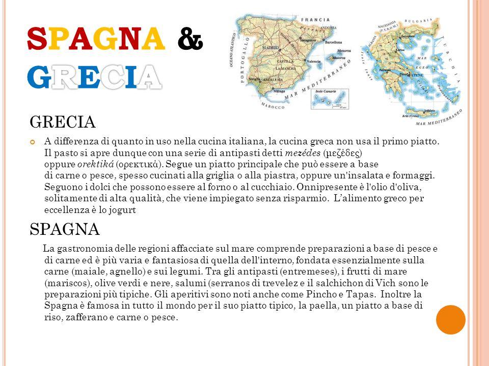 SPAGNA & GRECIA GRECIA SPAGNA