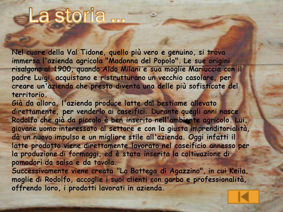 La storia …