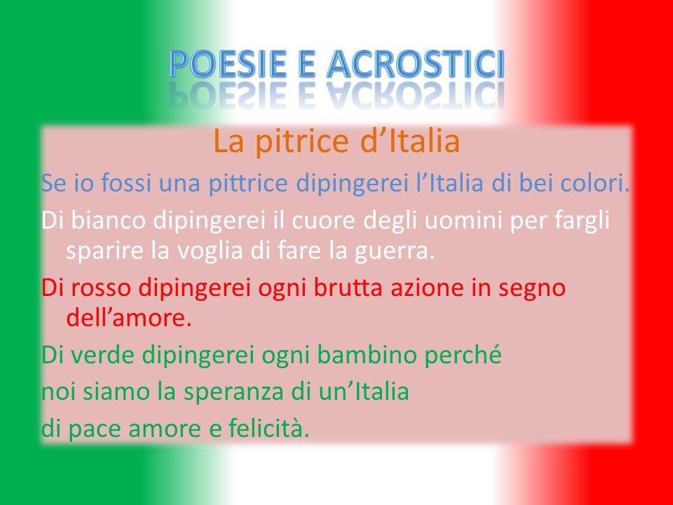 Poesie e Acrostici La pitrice d'Italia