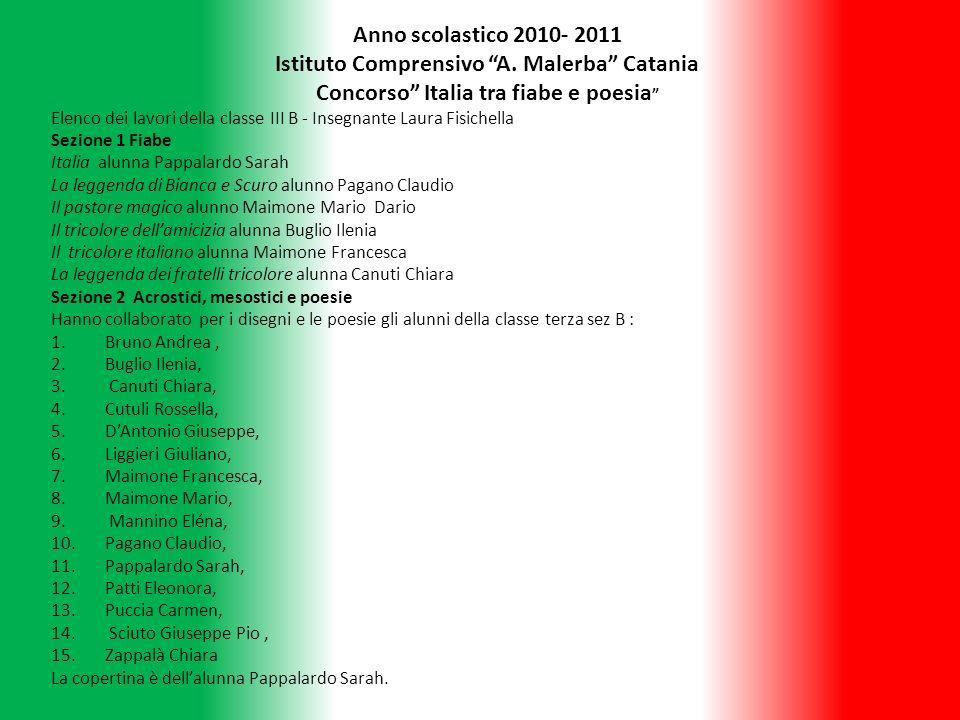 Istituto Comprensivo A. Malerba Catania