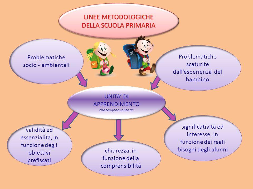 LINEE METODOLOGICHE DELLA SCUOLA PRIMARIA
