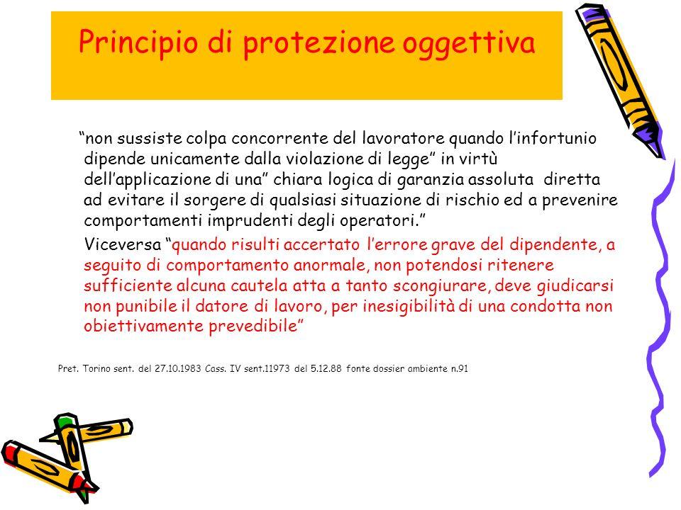 Principio di protezione oggettiva