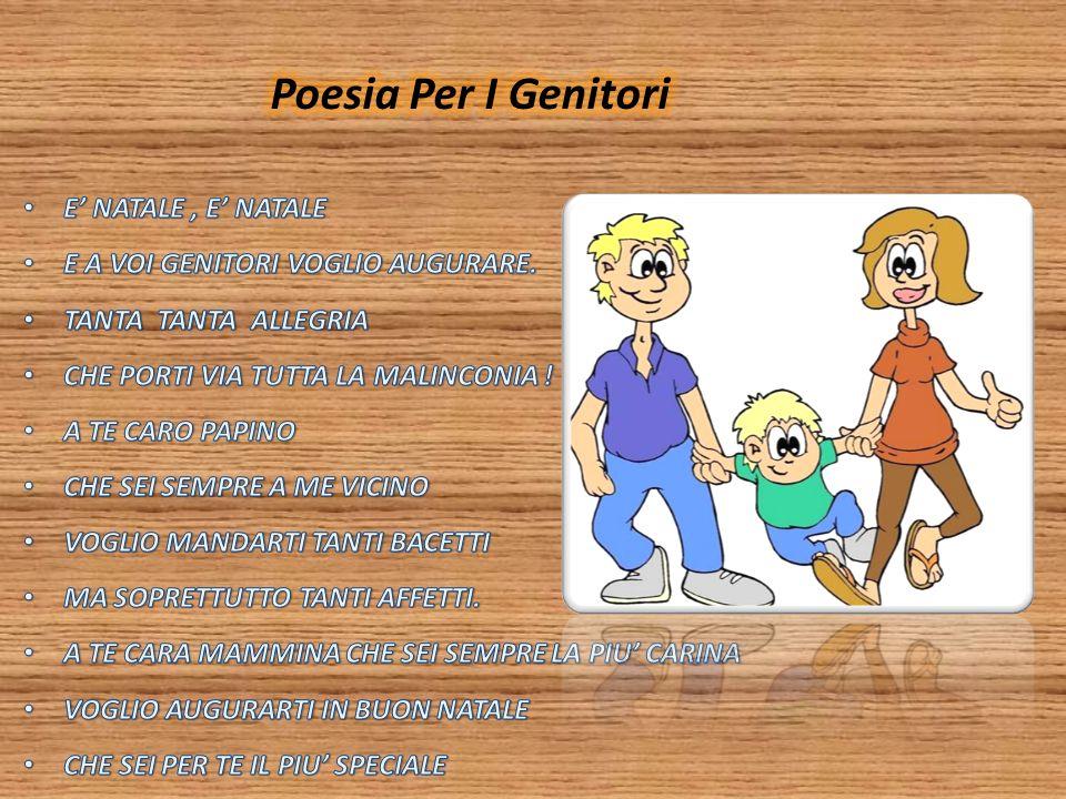 Poesia Per I Genitori E' NATALE , E' NATALE
