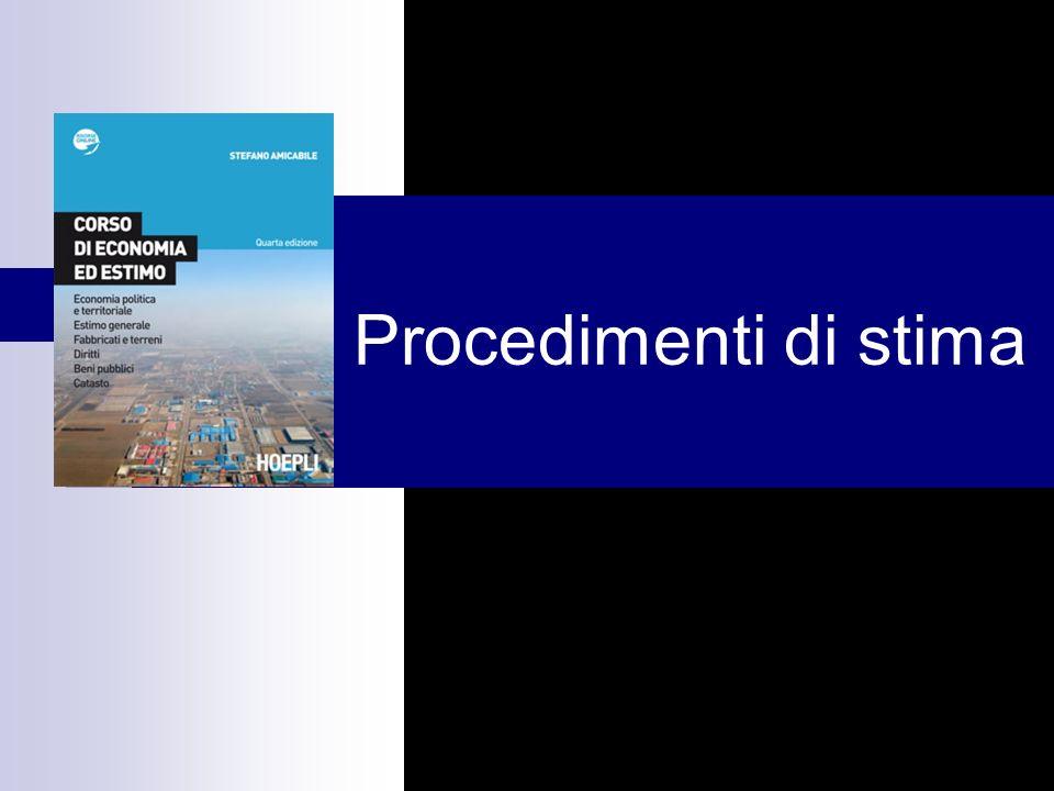 Capitolo 1 Procedimenti di stima