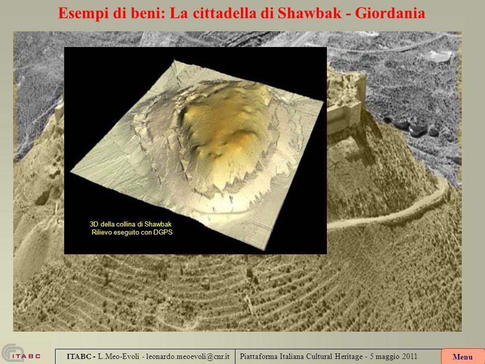 Esempi di beni: La cittadella di Shawbak - Giordania