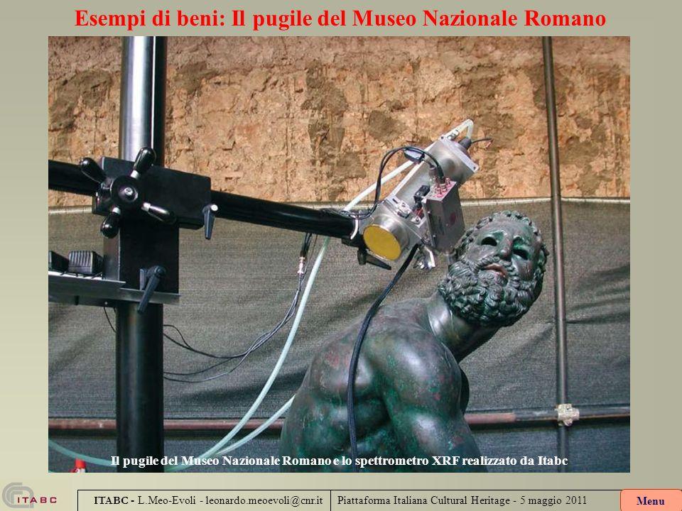 Esempi di beni: Il pugile del Museo Nazionale Romano